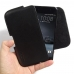 HTC One A9 Leather Holster Pouch Case (Black Stitch) genuine leather case by PDair