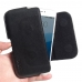 MEIZU Pro 6s Leather Holster Pouch Case (Black Stitch) handmade leather case by PDair