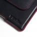 BlackBerry Passport AT&T Leather Holster Pouch Case (Red Stitch) custom degsined carrying case by PDair