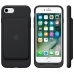 iPhone 7 in Official Smart Battery Case Pouch Case with Belt Clip (Black Stitch) custom degsined carrying case by PDair