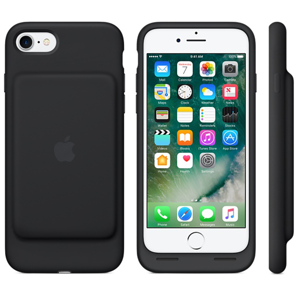 Iphone 7 in official smart battery case pouch case with belt clip - Iphone 7 smart battery case ...