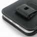 iPhone 7 Plus (in Slim Cover) Pouch Clip Case genuine leather case by PDair