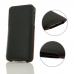 iPhone XS Luxury Pouch Case with Belt Clip (Orange Stitch)