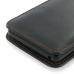 Microsoft Lumia 950 Pouch Case with Belt Clip (Orange Stitch) genuine leather case by PDair