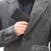 Leather Wallet Pouch for HTC U12 Plus   U12+ (Red Stitch)