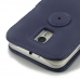 Moto G 3rd Gen 2015 Leather Flip Cover (Purple) offers worldwide free shipping by PDair