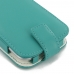 Moto G 3rd Gen 2015 Leather Flip Wallet Case (Aqua) best cellphone case by PDair