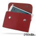 iPad mini 4 Leather Sleeve Pouch (Red) custom degsined carrying case by PDair