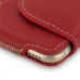iPhone 6 6s Leather Holster Pouch Case (Red) top quality leather case by PDair
