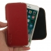 iPhone 7 Leather Holster Pouch Case (Red) handmade leather case by PDair