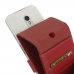 Moto G 3rd Gen 2015 Leather Flip Wallet Case (Red) top quality leather case by PDair