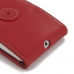 Moto G 3rd Gen 2015 Leather Flip Wallet Case (Red) offers worldwide free shipping by PDair