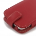 Moto G 3rd Gen 2015 Leather Flip Wallet Case (Red) best cellphone case by PDair