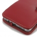 Samsung Galaxy Note 5 Leather Flip Cover (Red) offers worldwide free shipping by PDair