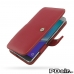 Samsung Galaxy Note 5 Leather Flip Cover (Red) best cellphone case by PDair