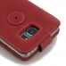 Samsung Galaxy Note 5 Leather Flip Top Case (Red) custom degsined carrying case by PDair