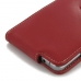 Samsung Galaxy Note 5 Leather Flip Top Case (Red) offers worldwide free shipping by PDair
