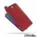 Samsung Galaxy Note 5 Leather Flip Top Case (Red) best cellphone case by PDair