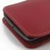 Moto X Play Leather Sleeve Pouch Case (Red) genuine leather case by PDair