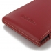 Moto X Play Leather Sleeve Pouch Case (Red) top quality leather case by PDair