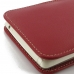 LG G4 Stylus Leather Sleeve Pouch Case (Red) genuine leather case by PDair