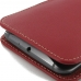 Moto X Style / Pure Edition Leather Sleeve Pouch Case (Red) genuine leather case by PDair