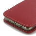 Samsung Galaxy S6 edge+ Plus (in Slim Cover) Pouch Case (Red) genuine leather case by PDair
