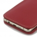 Samsung Galaxy A5 2016 Leather Sleeve Pouch Case (Red) genuine leather case by PDair