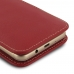 Samsung Galaxy On5 2016 Leather Sleeve Pouch Case (Red) genuine leather case by PDair