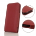 Samsung Galaxy J3 (2017) Leather Sleeve Pouch Case (Red) protective carrying case by PDair