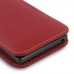 Sony Xperia X Leather Sleeve Pouch Case (Red) genuine leather case by PDair