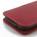 ViVO Y35 Leather Sleeve Pouch Case (Red) genuine leather case by PDair