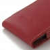 ViVO Y35 Leather Sleeve Pouch Case (Red) top quality leather case by PDair