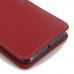 HTC 10 Leather Sleeve Pouch Case (Red) genuine leather case by PDair