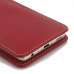 Huawei P9 Leather Sleeve Pouch Case (Red) genuine leather case by PDair