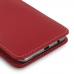Samsung Galaxy C5 Leather Sleeve Pouch Case (Red) genuine leather case by PDair