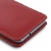 ZTE Blade V7 / Small Fresh 4 Leather Sleeve Pouch Case (Red) genuine leather case by PDair