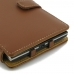 BlackBerry Passport Leather Flip Cover (Brown) handmade leather case by PDair