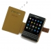 BlackBerry Passport Leather Flip Cover (Brown) top quality leather case by PDair