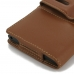 BlackBerry Priv Leather Holster Case (Brown) top quality leather case by PDair