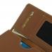 BlackBerry Priv Leather Wallet Sleeve Case (Brown) genuine leather case by PDair