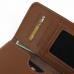 iPhone 8 Leather Wallet Sleeve Case (Brown) genuine leather case by PDair