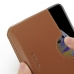 iPhone XS Leather Wallet Sleeve Case (Brown) handmade leather case by PDair