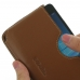 Microsoft Lumia 950 Leather Wallet Sleeve Case (Brown) top quality leather case by PDair