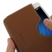 MEIZU U10 Leather Wallet Sleeve Case (Brown) handmade leather case by PDair