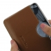 Nokia 5.1 Plus Leather Wallet Sleeve Case (Brown) handmade leather case by PDair