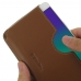 OPPO R9 Leather Wallet Sleeve Case (Brown) top quality leather case by PDair