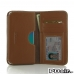 OPPO R9 Leather Wallet Sleeve Case (Brown) best cellphone case by PDair