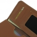 Samsung Galaxy A5 2016 Leather Wallet Sleeve Case (Brown) genuine leather case by PDair