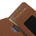 Sony Xperia X Leather Wallet Sleeve Case (Brown) genuine leather case by PDair